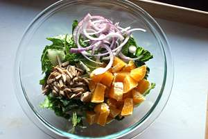 Green and Gold salad 2